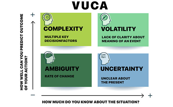 How Managers Can Deal With A VUCA Environment